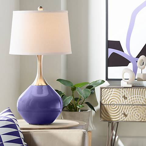 Valiant Violet Spencer Table Lamp