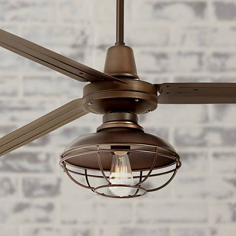 "72"" Turbina XL Franklin Park Oil-Rubbed Bronze Ceiling Fan"