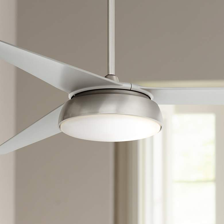 "60"" Turano™ Brushed Steel LED Ceiling Fan"