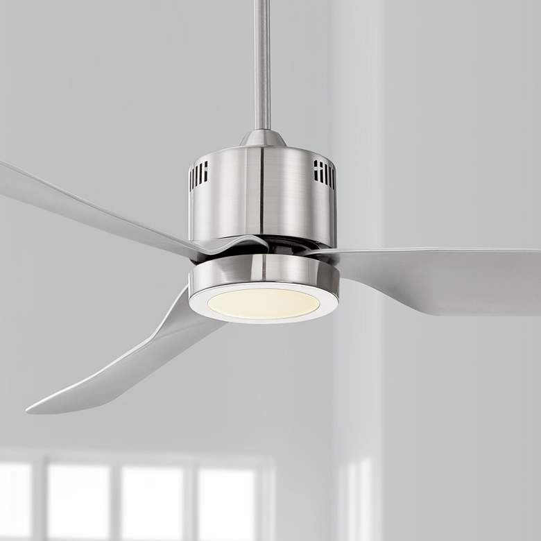 "52"" Visionary™ Brushed Nickel LED Ceiling Fan"