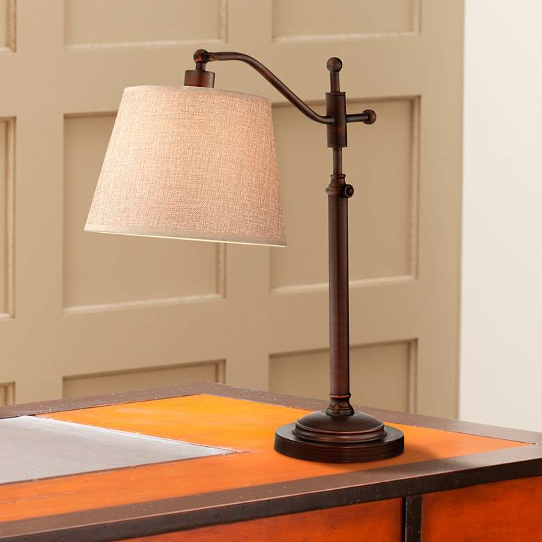Adley Downbridge Arm Adjustable Desk Lamp