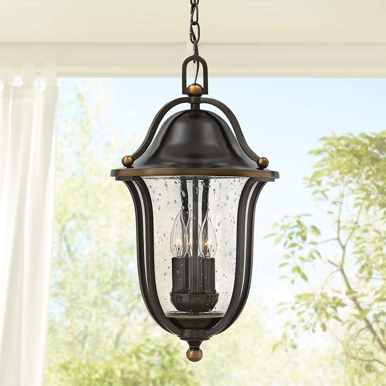 "Hinkley Bolla 20 1/2"" High Olde Bronze Outdoor"