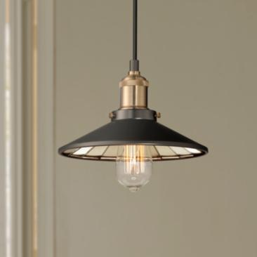 "Emile Urban Industrial 8 3/4"" Wide LED Mini Pendant"