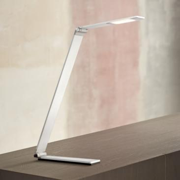 Possini Euro Strauss Aluminum LED Desk Lamp