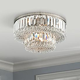 Crystal Flush Mount Lighting Lamps Plus