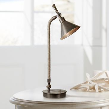 Uttermost Duvall Oxidized Bronze Task Desk Lamp