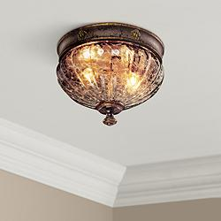 "Metropolitan Sanguesa 9 1/2"" Wide Flushmount Ceiling Light"