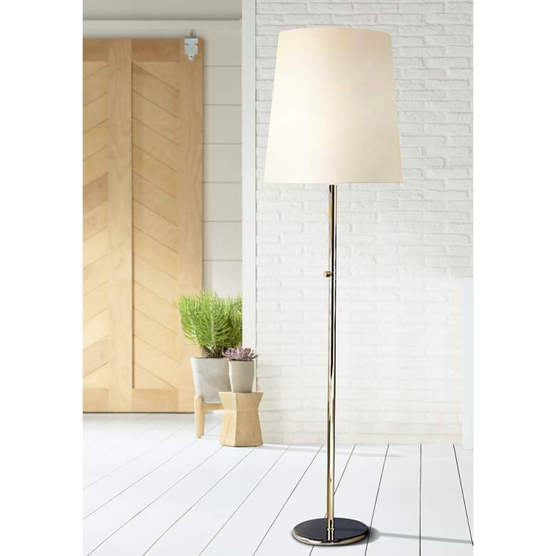 Robert Abbey Buster Floor Lamp with Fondine Shade