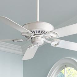 "54"" Minka Aire Ultra-Max White Ceiling Fan"