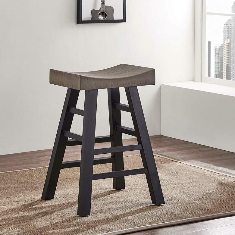 "American Heritage Cheyenne 29"" Ocean Finish Bar Stool"