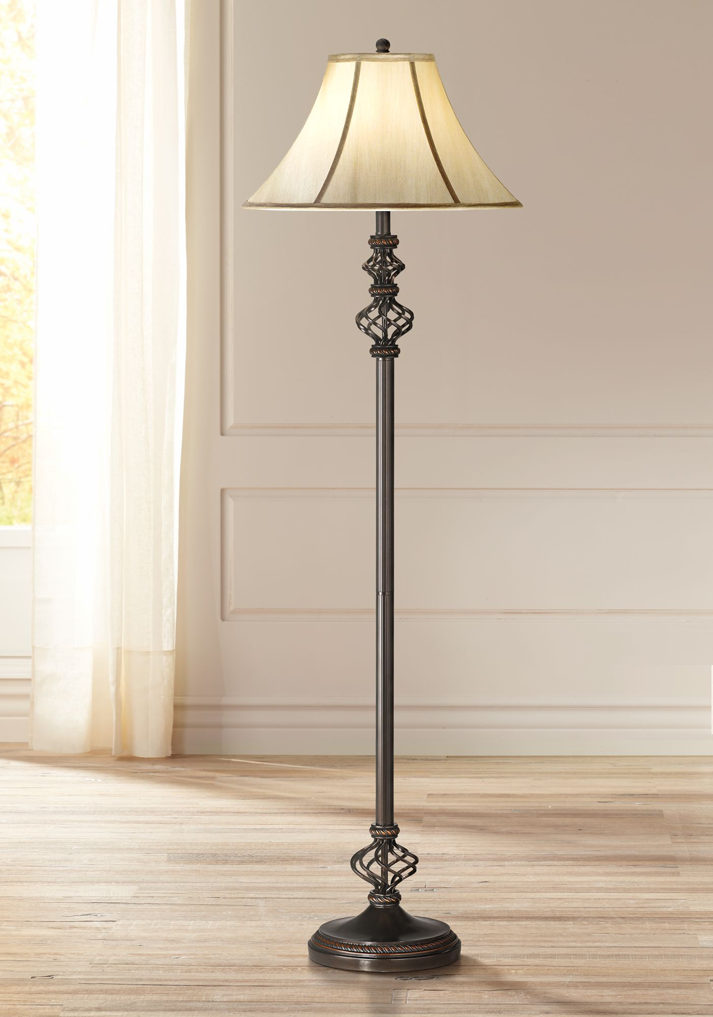 Bon Wrought Iron Floor Lamp