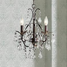 Mini Chandeliers Luxe Looks For The Bedroom Bathrooms Closet And - Mini chandeliers for bathroom
