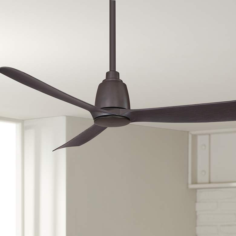 "44"" Fanimation Kute Dark Bronze Damp Ceiling Fan"