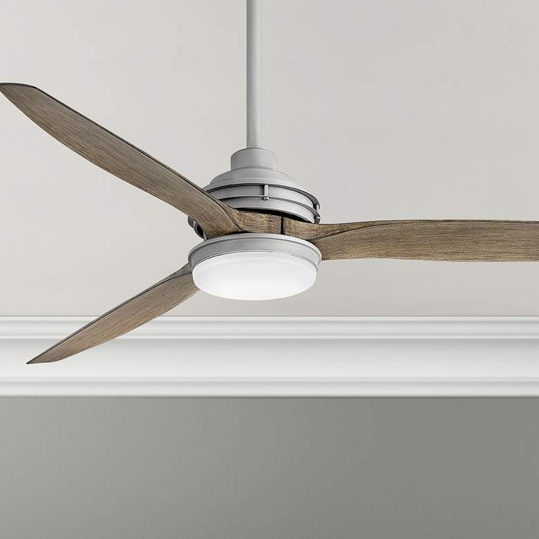 "60"" Hinkley Artiste Graphite LED Wet-Rated Ceiling Fan"