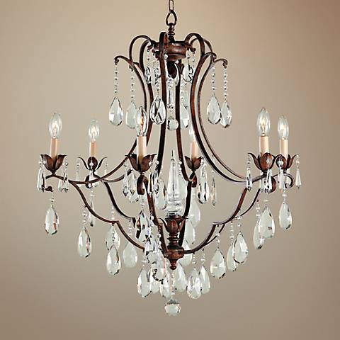 "Feiss Maison de Ville 27 3/4"" Wide Crystal Chandelier"