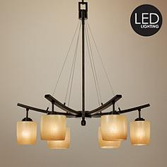 Minka lavery energy efficient chandeliers lamps plus raiden collection six downlights led chandelier aloadofball Images