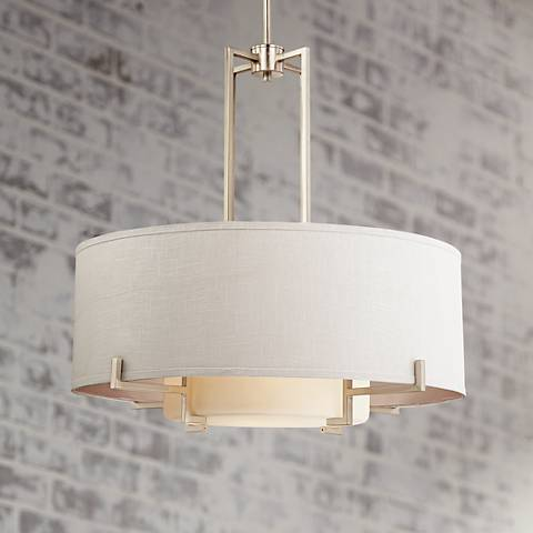 "Possini Euro Concentric Shades 28"" Wide Pendant Light"