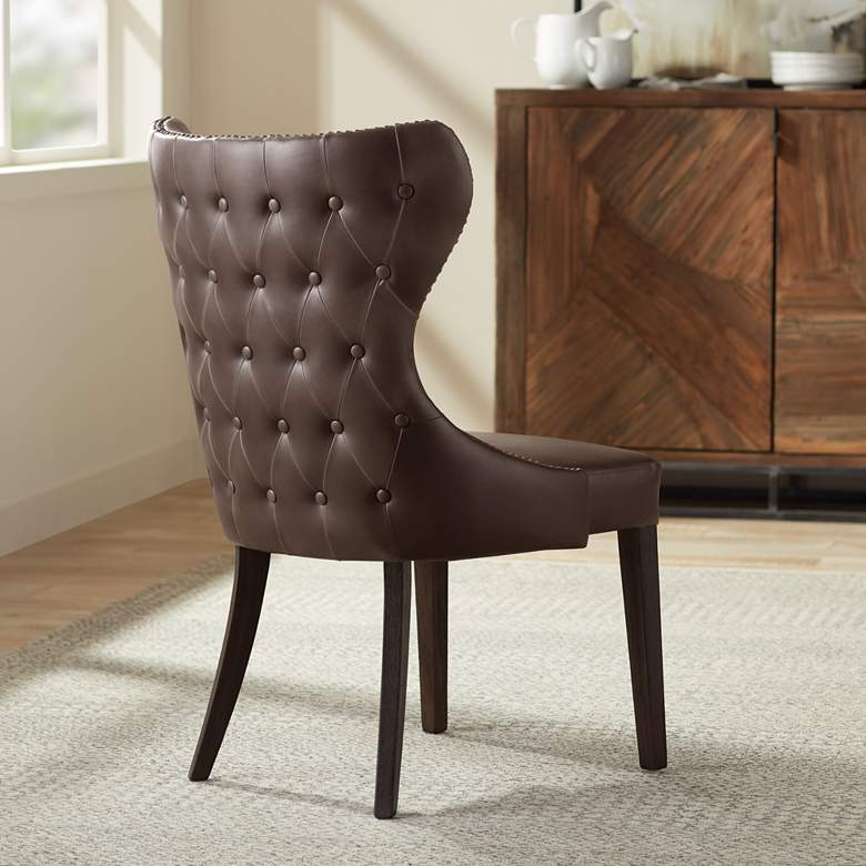Ariana Dark Havana Dining Chair