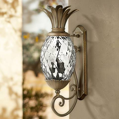 "Hinkley Plantation 28"" High Copper Bronze Outdoor Wall Light"