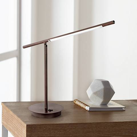 Telesco Oil Rubbed Bronze LED Desk Lamp