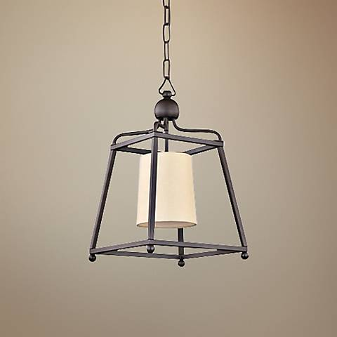 "Crystorama Sylvan 11 1/2""W Bronze Mini Pendant Light"