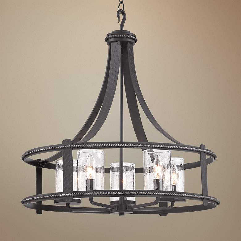 Palencia Pardo Wash 5-Light Chandelier