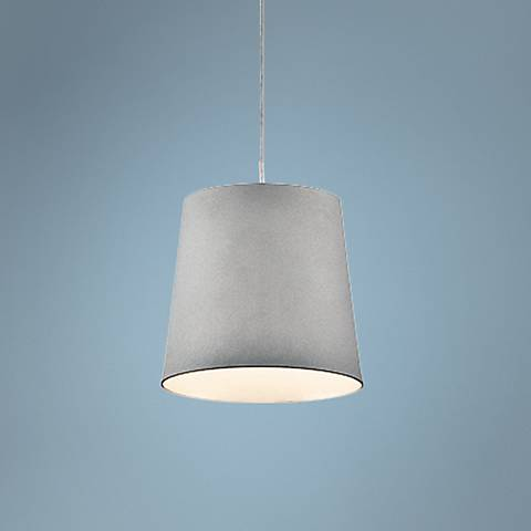 "Eurofase Borto 6"" Wide Gray LED Mini Pendant Light"