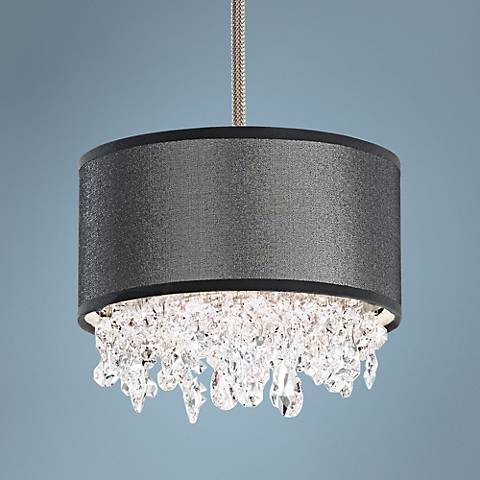 "Eclyptix 2-Light 7"" Wide Crystal Mini Pendant"
