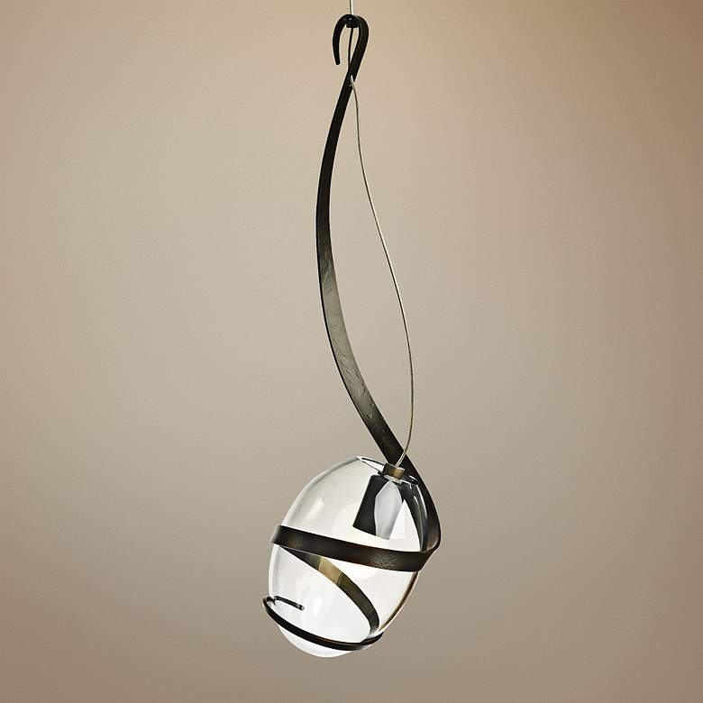 "Hubbardton Forge Pinot 5 1/2"" Wide Dark Smoke"