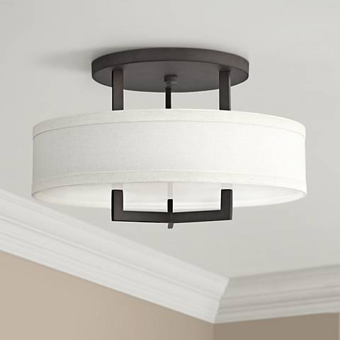 "Hinkley Hampton 20"" Wide Buckeye Bronze Ceiling Light"