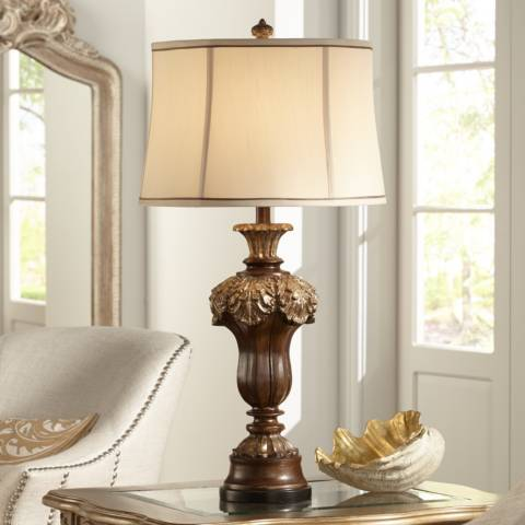 Hyde Park Marlowe Table Lamp By Kathy Ireland 8j229