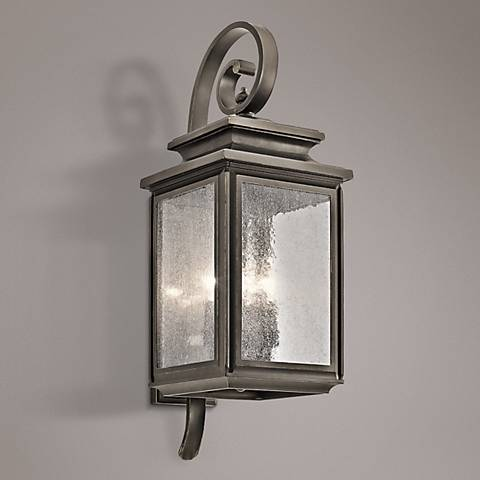 Kichler Wiscombe Park 26 1/4 H  Bronze Outdoor Wall Light
