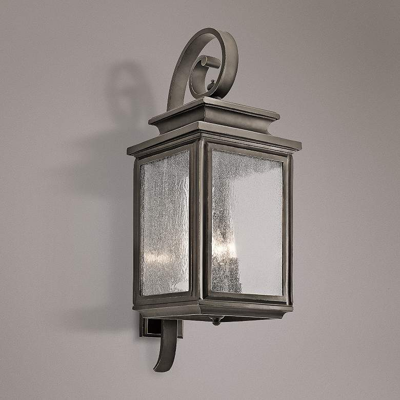 Kichler Wiscombe Park 30 1/2 H  Bronze Outdoor Wall Light