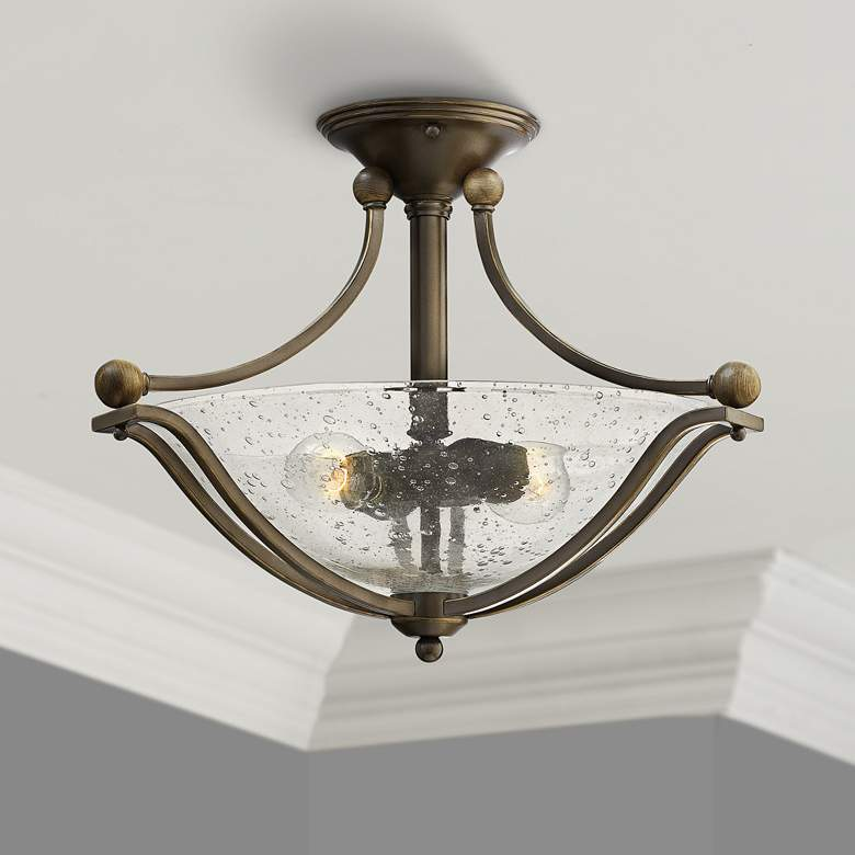 "Hinkley Bolla 19 1/4"" Wide Olde Bronze Ceiling"
