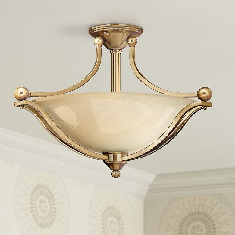 "Hinkley Bolla 23 1/4"" Wide Brushed Bronze Ceiling Light"