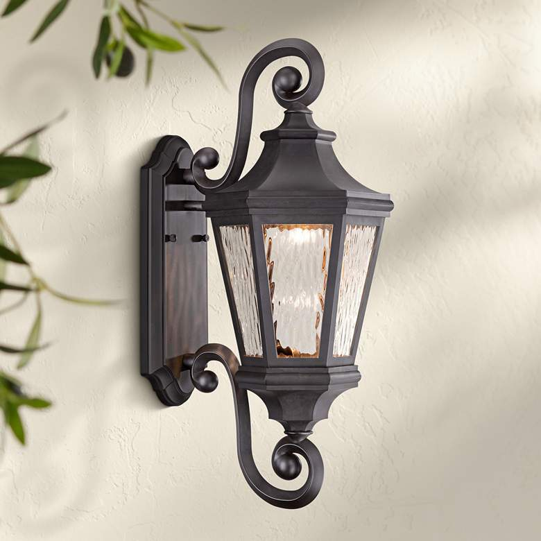 "Handforde Pointe LED 21 3/4""H Bronze Outdoor Wall"