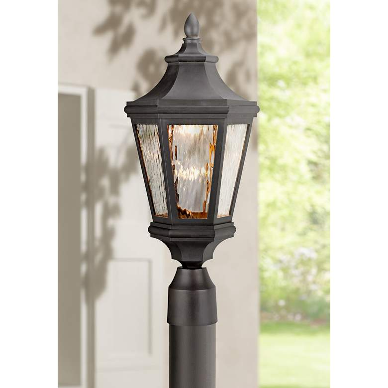 "Handforde Pointe LED 20 1/4""H Bronze Outdoor Post"