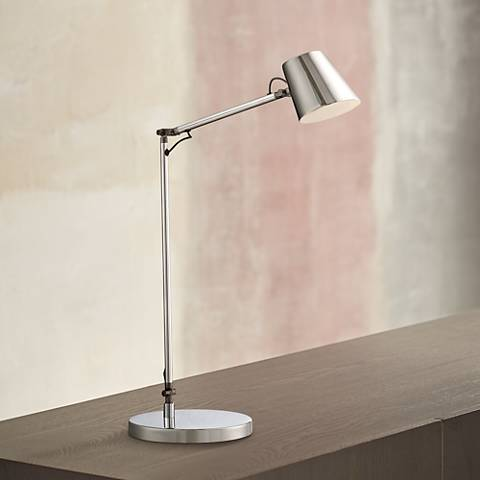 George Kovacs Maxwell Chrome LED Desk Lamp