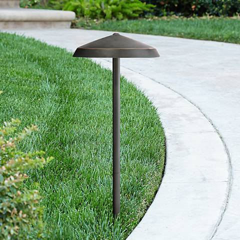 Albany Bronze Geo Dome 3 Watt LED Landscape Path Light