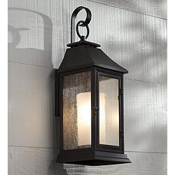 "Feiss Shepherd 25 1/2"" High Copper Outdoor Wall Light"