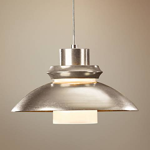 "Hubbardton Forge Staccato 10 1/2""W Soft Gold Mini Pendant"