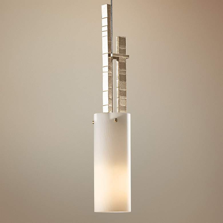 "Hubbardton Forge Ondrian Gold 3""W Opal Glass Mini"