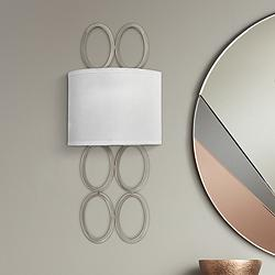 "Hinkley Jules 20 1/2"" High Brushed Nickel Wall Sconce"