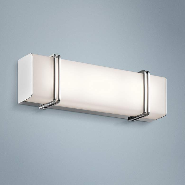 "Kichler Impello 18 1/4"" Wide LED Linear Chrome"