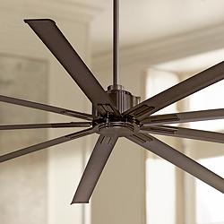 "96"" Minka Aire Xtreme Oil-Rubbed Bronze Ceiling Fan"