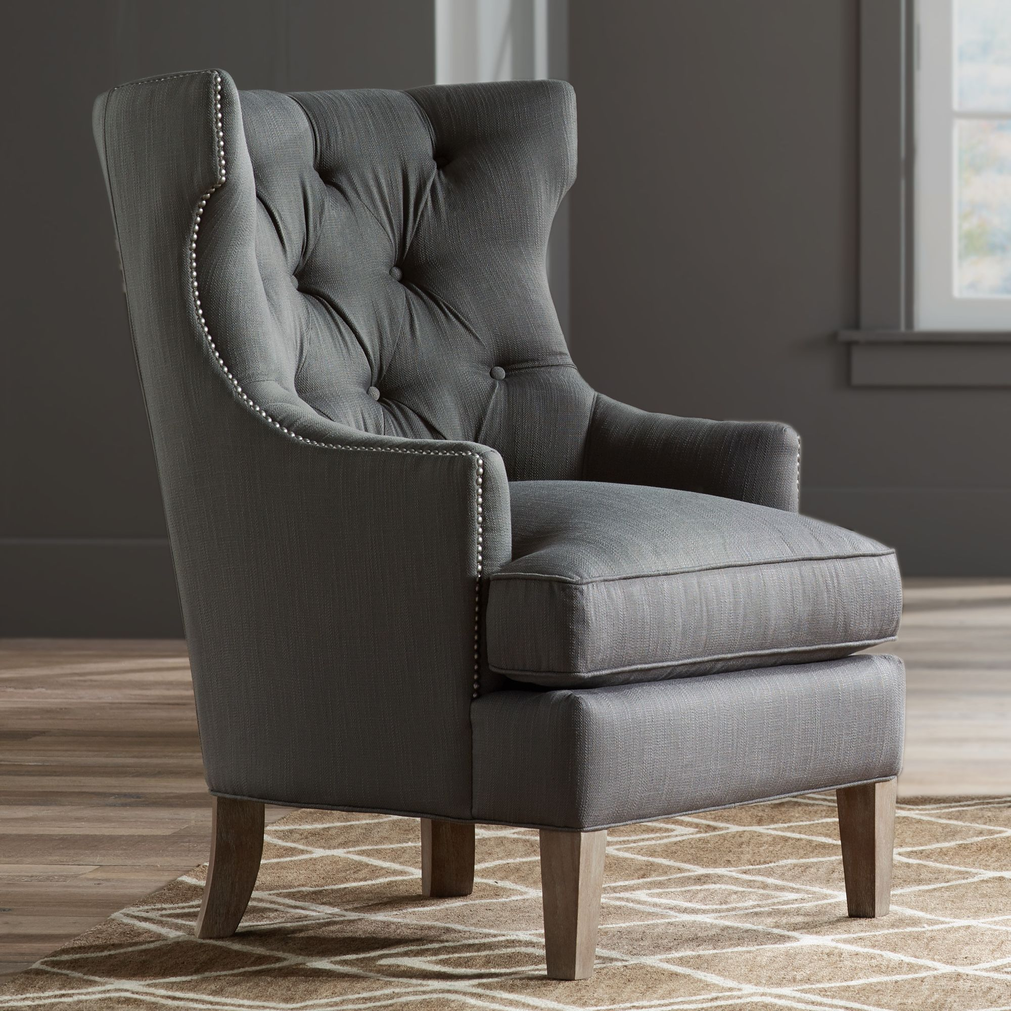 Beautiful High Back Accent Chairs Concept