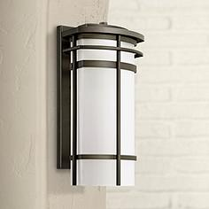 16 20 in high possini euro design wall light outdoor lighting