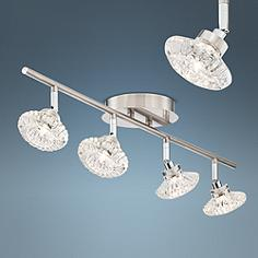 Pro Track Anissa 4 Light Crystal Fixture