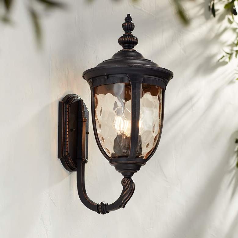 Bellagio 21 High Bronze Upbridge Outdoor Wall Light