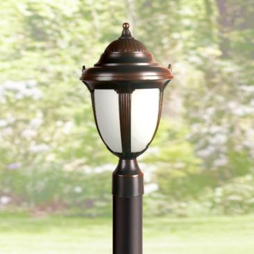 "Casa Sorrento 20 3/4"" High Bronze Post Mount"